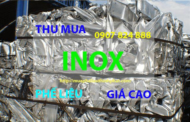 Thu mua phế liệu inox giá cao