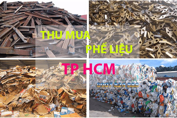 Thu mua phế liệu tphcm giá cao
