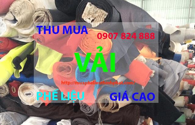 Thu mua vải phế liệu giá cao