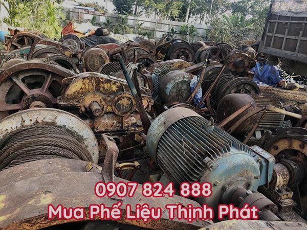Thu mua máy móc cũ phế liệu giá cao