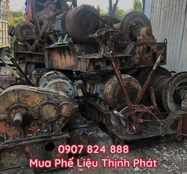 Thu mua máy móc, thiết bị cũ sử dụng trong thi công xây dựng
