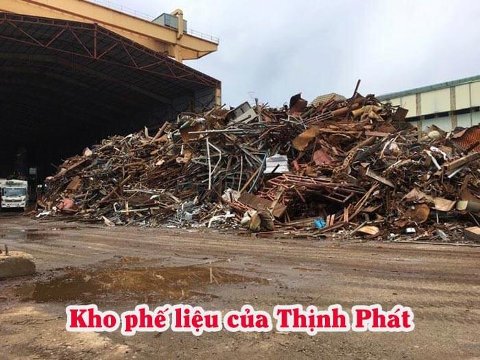 Hình ảnh một kho phế liệu của Thịnh Phát tại Hải Phòng