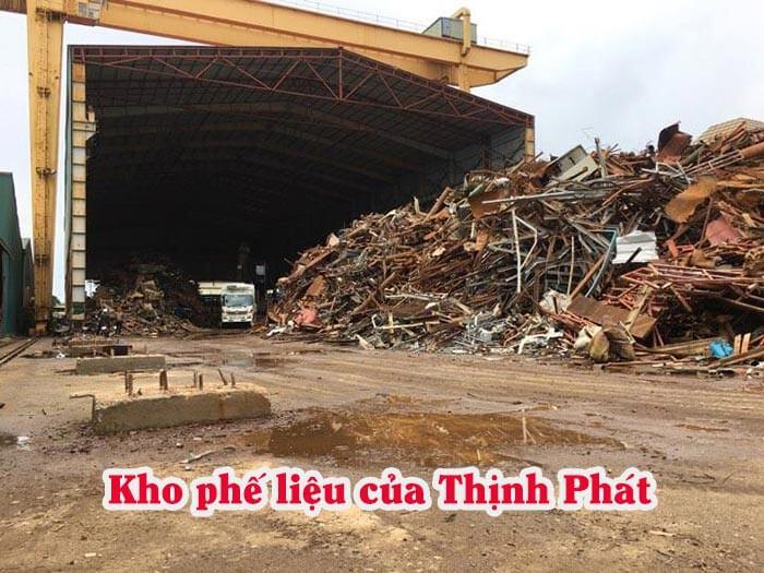 Kho phế liệu của Thịnh Phát tại tỉnh Long An