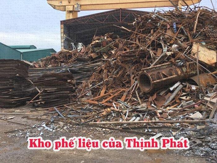 Kho bãi phế liệu của Thịnh Phát tại Vũng Tàu