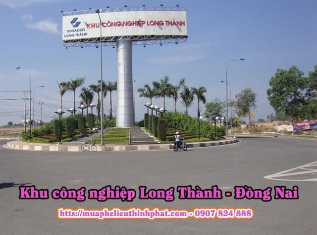 Thu mua phế liệu tại khu công nghiệp Long Thành, Đồng Nai