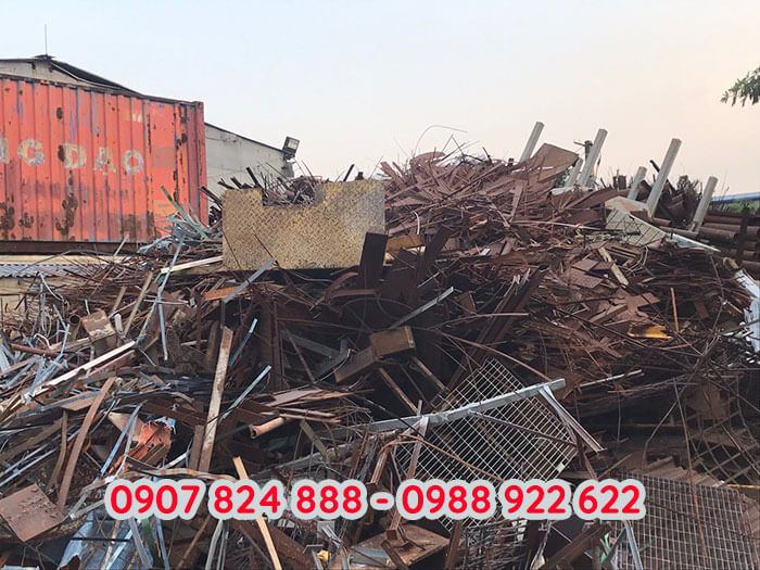 Thịnh Phát thu mua sắt phế liệu các loại với giá cao trên toàn tỉnh Long An