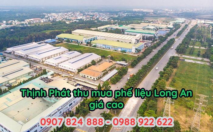Hơn 40% các doanh nghiệp, nhà máy sản xuất của Long An thanh lý phế liệu cho Thịnh Phát trong nhiều năm liền