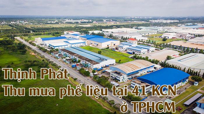 Thịnh Phát thu mua phế liệu tại 41 khu công nghiệp ở TPHCM