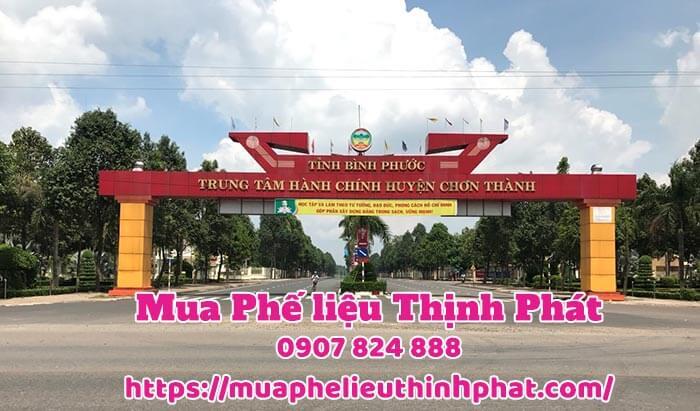 Thịnh phát thu mua phế liệu của tất cả khu công nghiệp tại Bình Phước