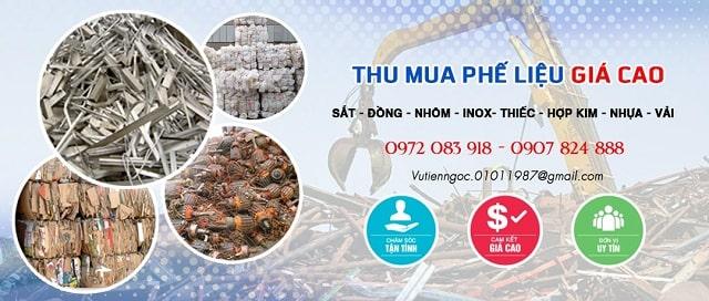 Công ty thu mua phế liệu TPHCM giá cao Thịnh Phát