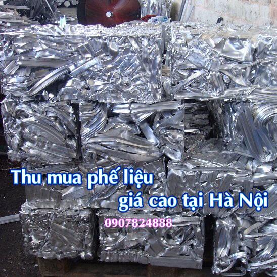 Giá thu mua phế liệu tại thành phố Hà Nội hôm nay