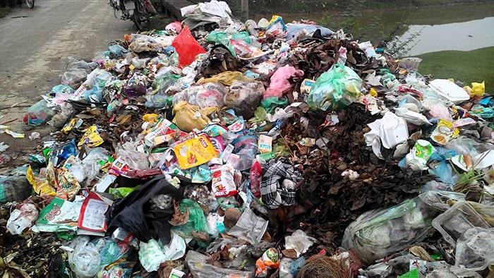 Rác thải từ môi trường sinh hoạt