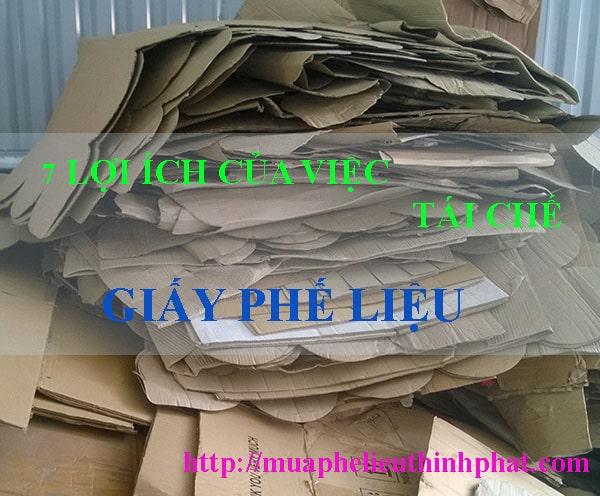 Lợi ích của việc tái chế giấy phế liệu