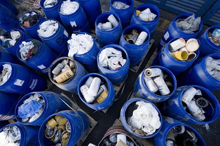 Danh mục chất thải nguy hại theo thông tư 36