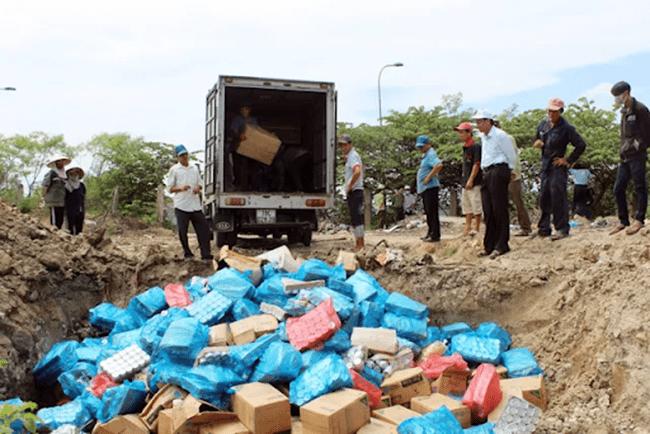 Chôn lấp rác thải hợp vệ sinh