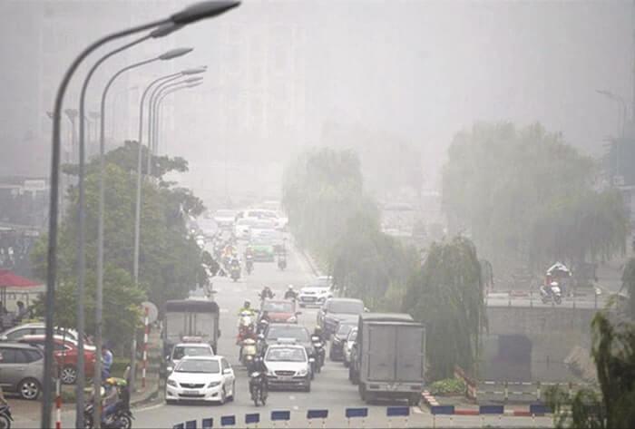 Khói, bụi từ phương tiện giao thông làm ô nhiễm môi trường không khí