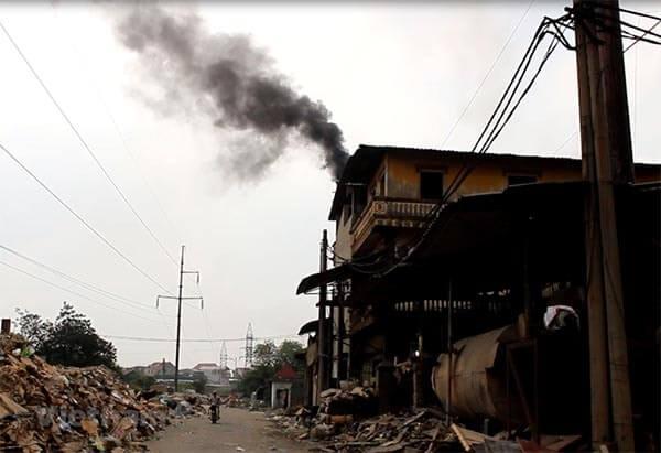 Thực trạng ô nhiễm không khí tại các làng nghề Việt Nam
