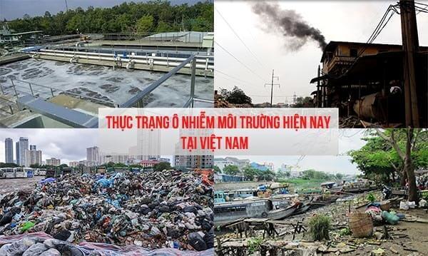 Thực trạng ô nhiễm môi trường hiện nay