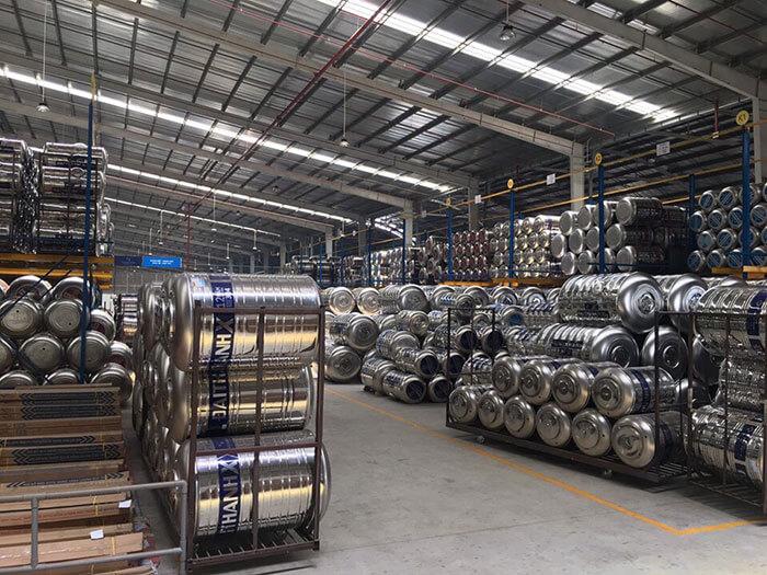 Stainless Steel được dùng làm bồn nước trong xây dựng
