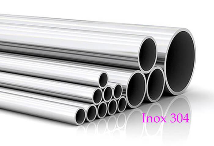 Inox 304 là vật liệu được sản xuất nhiều nhất hiện nay