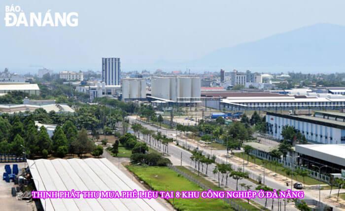 Thu mua phế liệu tại các cụm công nghiệp Đà Nẵng