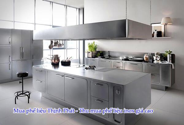 Inox 304 là vật liệu lý tưởng nhất để sản xuất thiết bị nhà bếp
