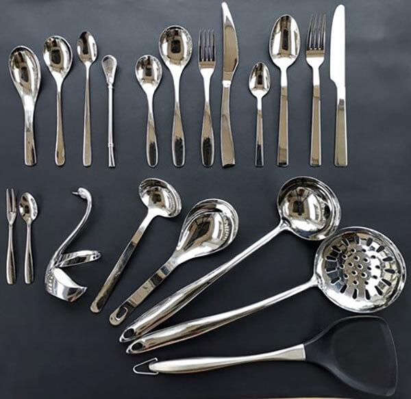 Sản xuất thiết bị nhà bếp là một trong những ứng dụng phổ biến nhất của Inox 304