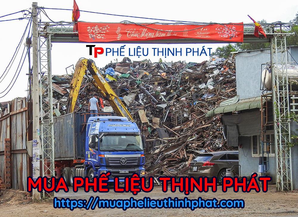 Một kho phế liệu khác nữa của công ty mua phế liệu Thịnh Phát