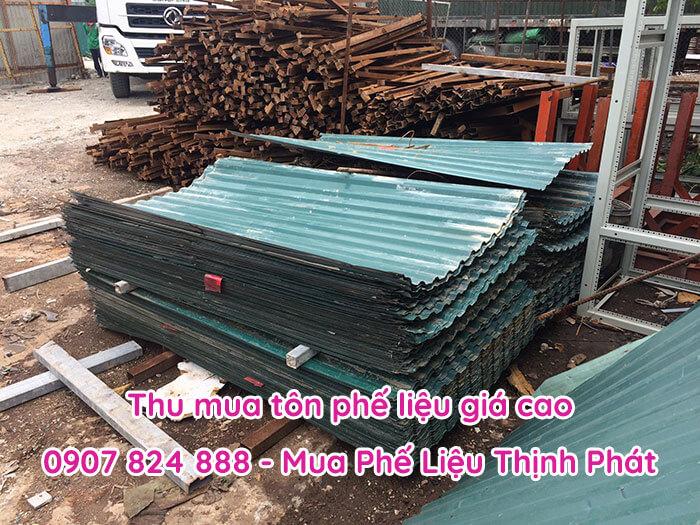 Thịnh Phát thu mua tôn cũ phế liệu giá cao