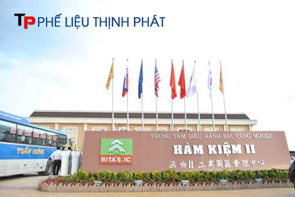 Thu mua phế liệu tại Khu công nghiệp Hàm Kiệm