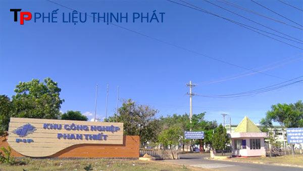 Thu mua phế liệu tại Khu công nghiệp Phan Thiết 1 & 2
