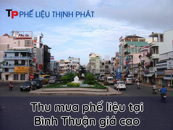 Thu mua phế liệu Bình Thuận giá cao