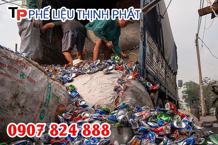 Thịnh Phát - Công ty thu mua vỏ lon bia, lon nước ngọt cũ giá cao